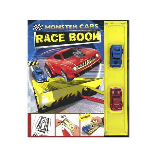 Monster Cars Race Book