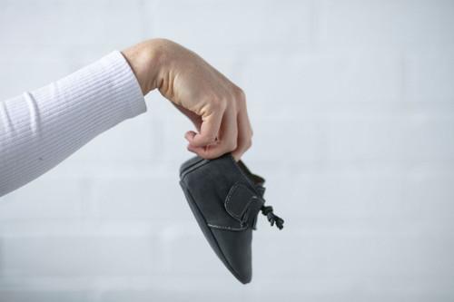 Oates Tassel Boot - Dark Grey