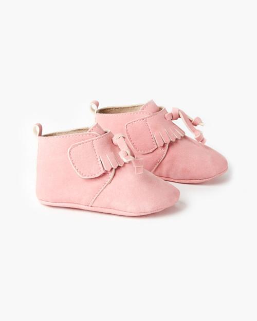 Oates Tassel Boot - Pink
