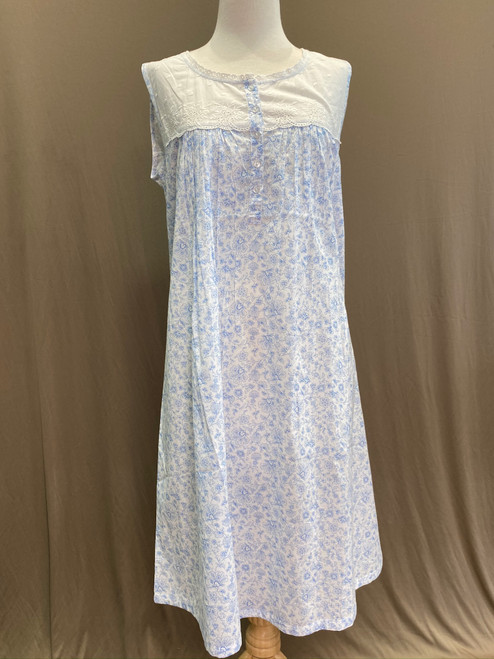 French Country Sleeveless Nightie FCP105