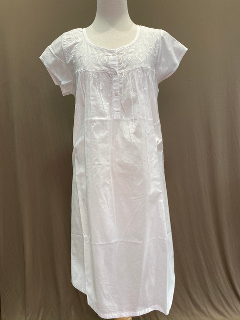 French Country Sleeved Nightie FCR134