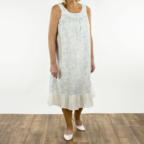 French Country  Sleeveless Nightie FCR100