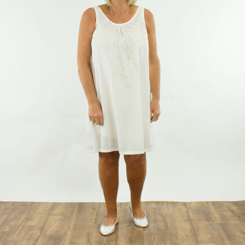 French Country  Strappy Nightie FCR135
