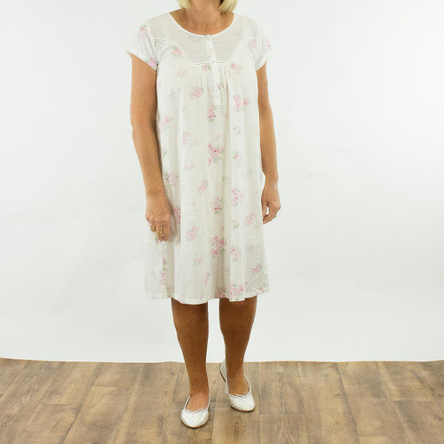 French Country Cap Nightie FCR141