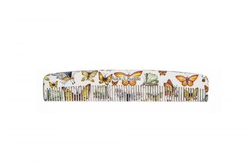 Rock & Ruddle Pocket Comb - Butterflies