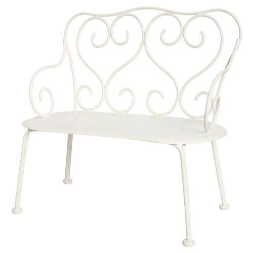 Maileg Romantic Bench White