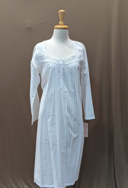 French Country Long Sleeve Nightie FCS305