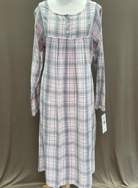 French Country Long Sleeve Nightie FCS314