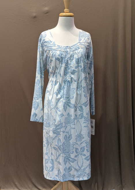 French Country Long Sleeve Nightie FCS300