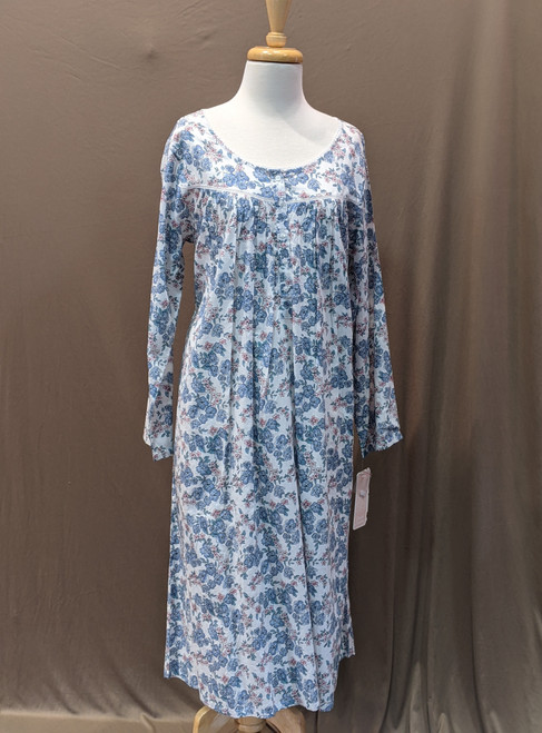 French Country Long Sleeve Nightie FCS351