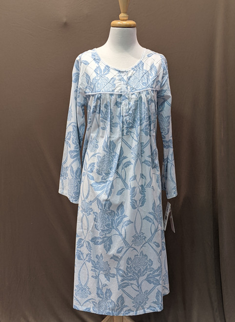French Country Long Sleeve Nightie FCS301