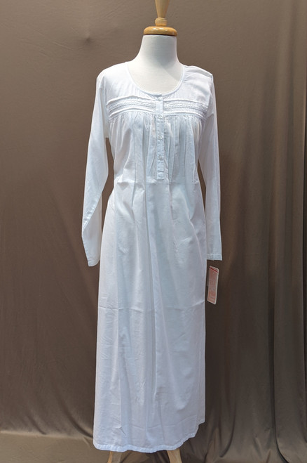 French Country Long Sleeve Nightie FCS308