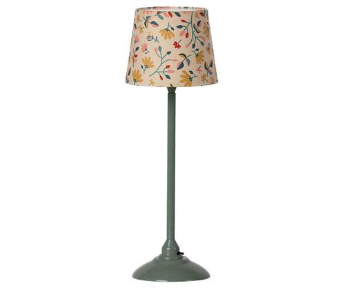 Maileg Minature Floor Lamp Dark Mint