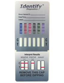 Identify Diagnostics 6 Panel Drug Test Dip - CLIA Waived - OTC Cleared