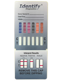 Identify Diagnostics 12 Panel Drug Test Dip - CLIA Waived, FDA Approved