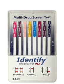 Identify Diagnostics USA 10 Panel Drug Test Dip - CLIA Waived, FDA Approved