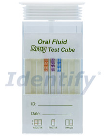 Healgen 7 Panel Oral Saliva Drug Test with ALCOHOL - Forensic Use Only