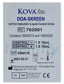 Liquid Control Urine - Negative Positive Set - Kova Tox DOA-SKREEN - 702001