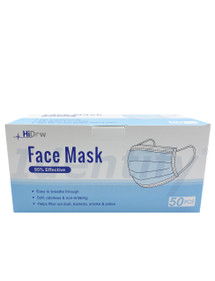 Face Mask Soft Disposable - 50 Per Box
