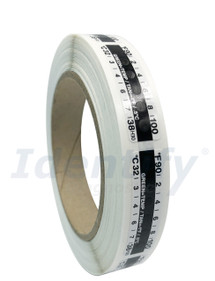 Temperature Strips Thermometer for urine specimen collection devices - 500 per roll