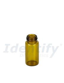 5ML Amber Glass Dram Vials - Liquid Bottles Only - Caps Sold Separately