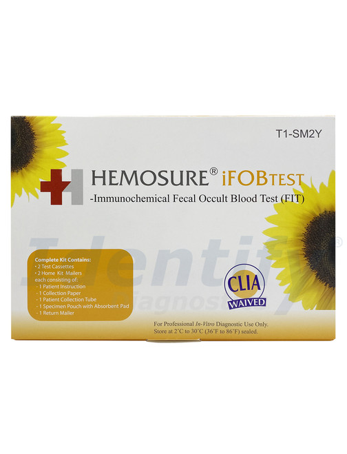 Hemosure iFOBTEST Fecal Blood Test - CLIA Waived
