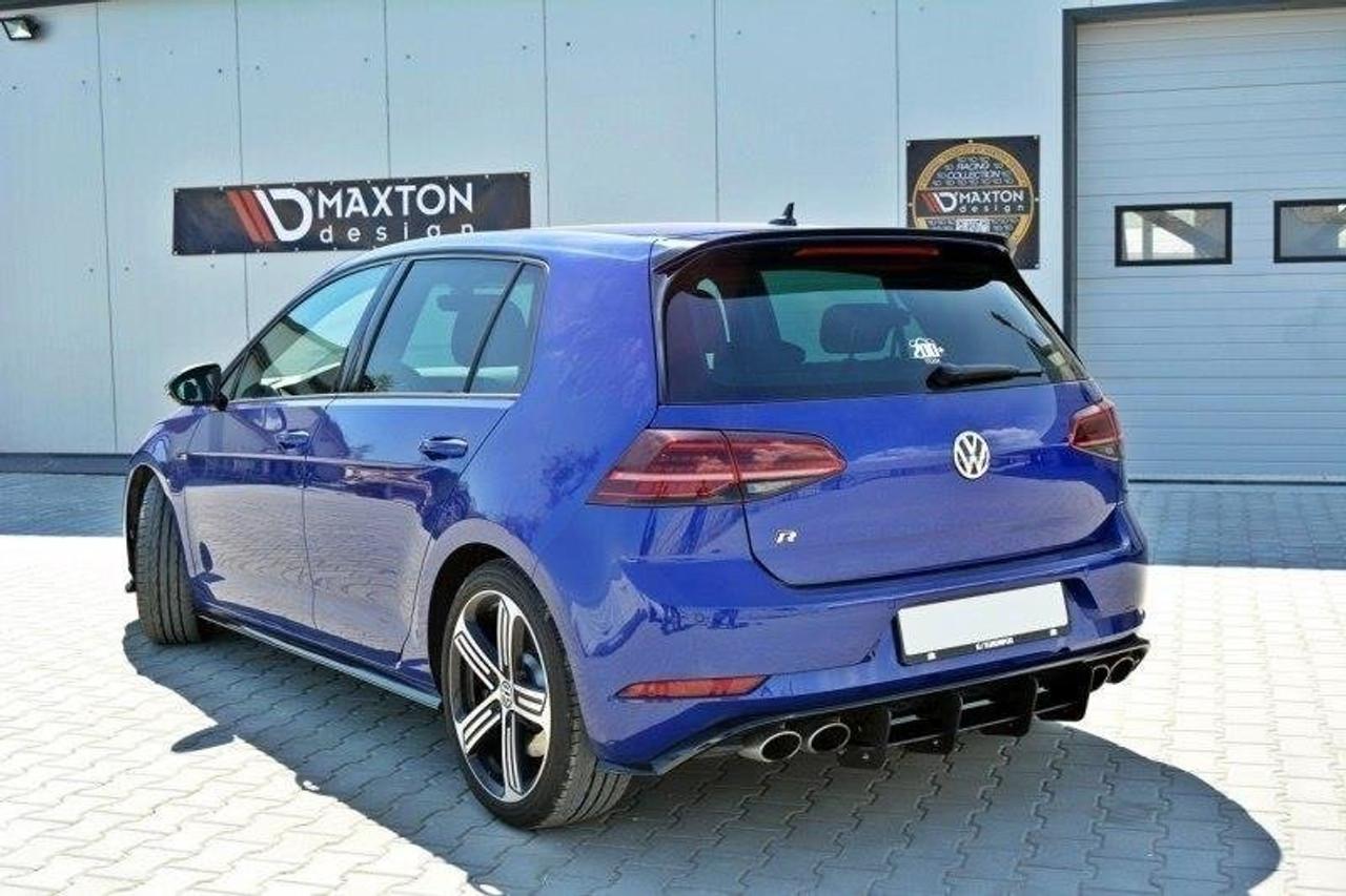 Maxton Design VW MK7.5 R (Facelift) Rear Diffuser