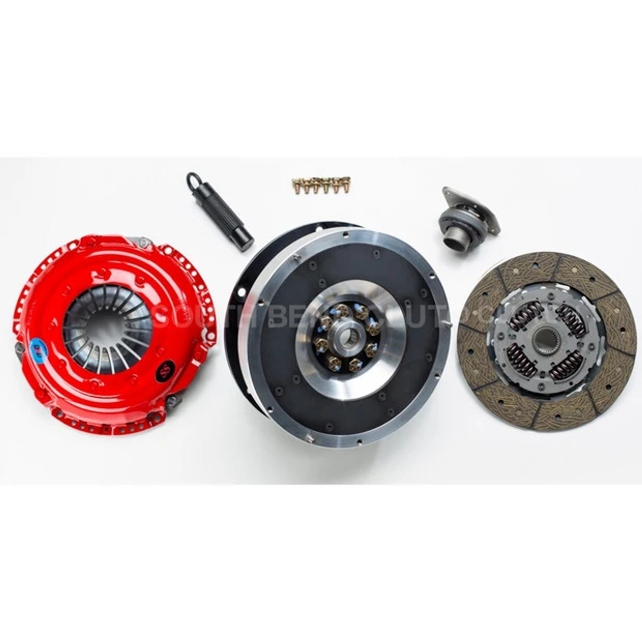 South Bend Stage 3 Endurance Clutch kit includes Single Mass Flywheel (650 Ft-LBS) for Audi B8/8.5 S4/S5 3.0T