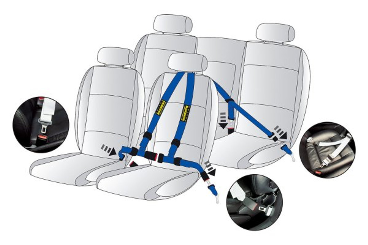 Schroth QuickFit Pro for Audi/VW (LHD)