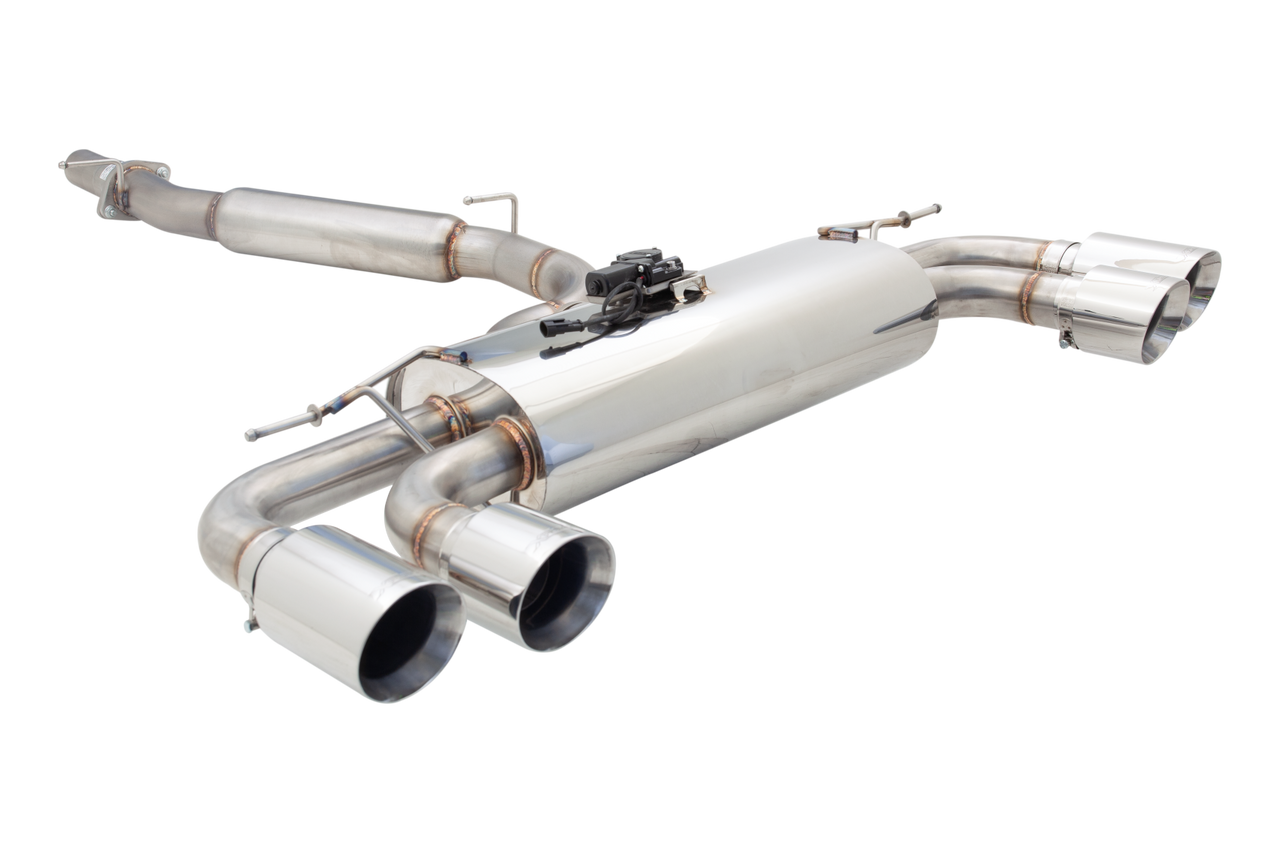 XForce Stainless Steel 3″ Cat-Back Exhaust System With Varex Muffler and SmartBox for MK7 Golf R