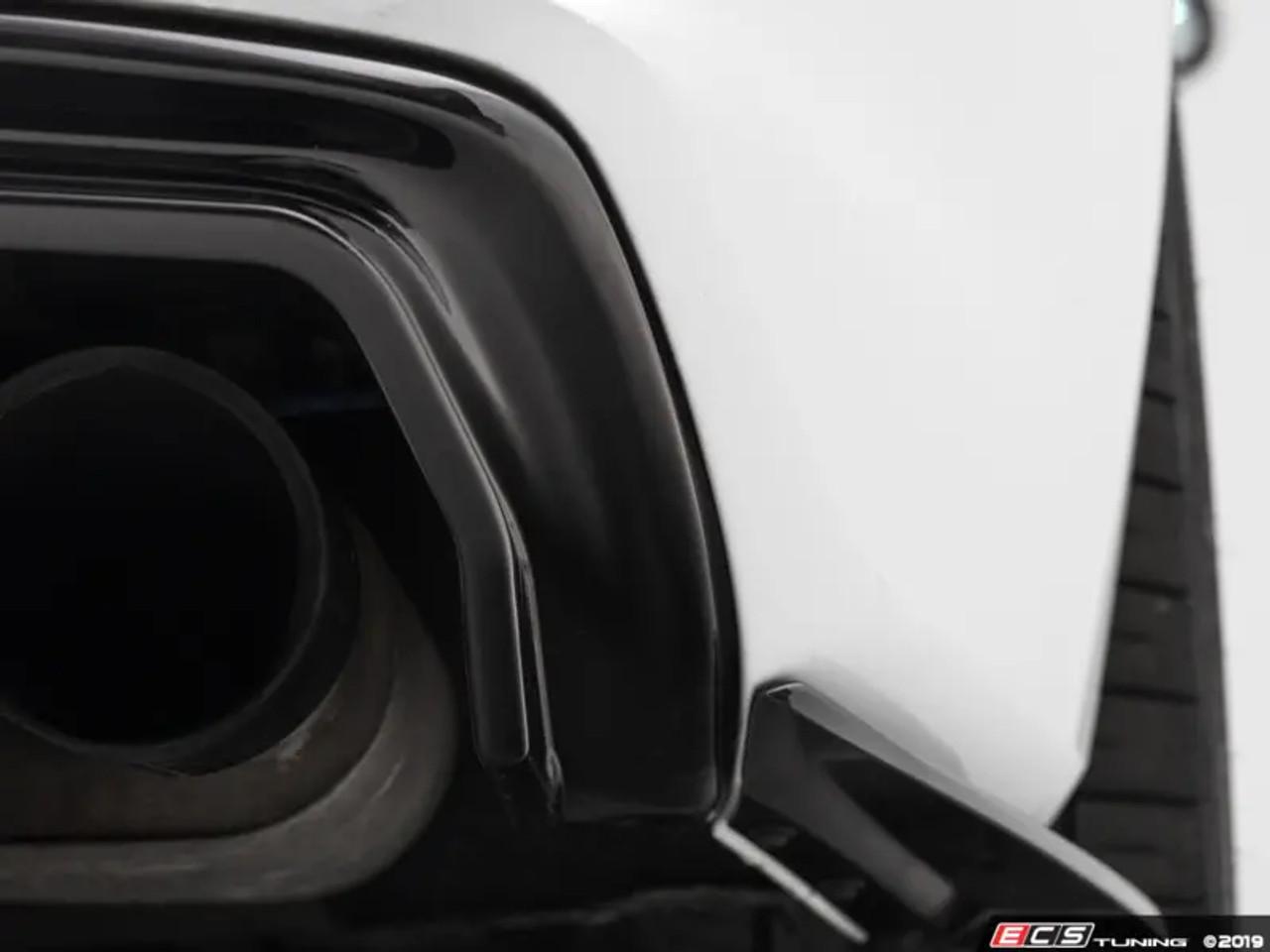 ECS Tuning Audi B8.5 S4 / A4 S-Line Rear Diffuser - Gloss Black
