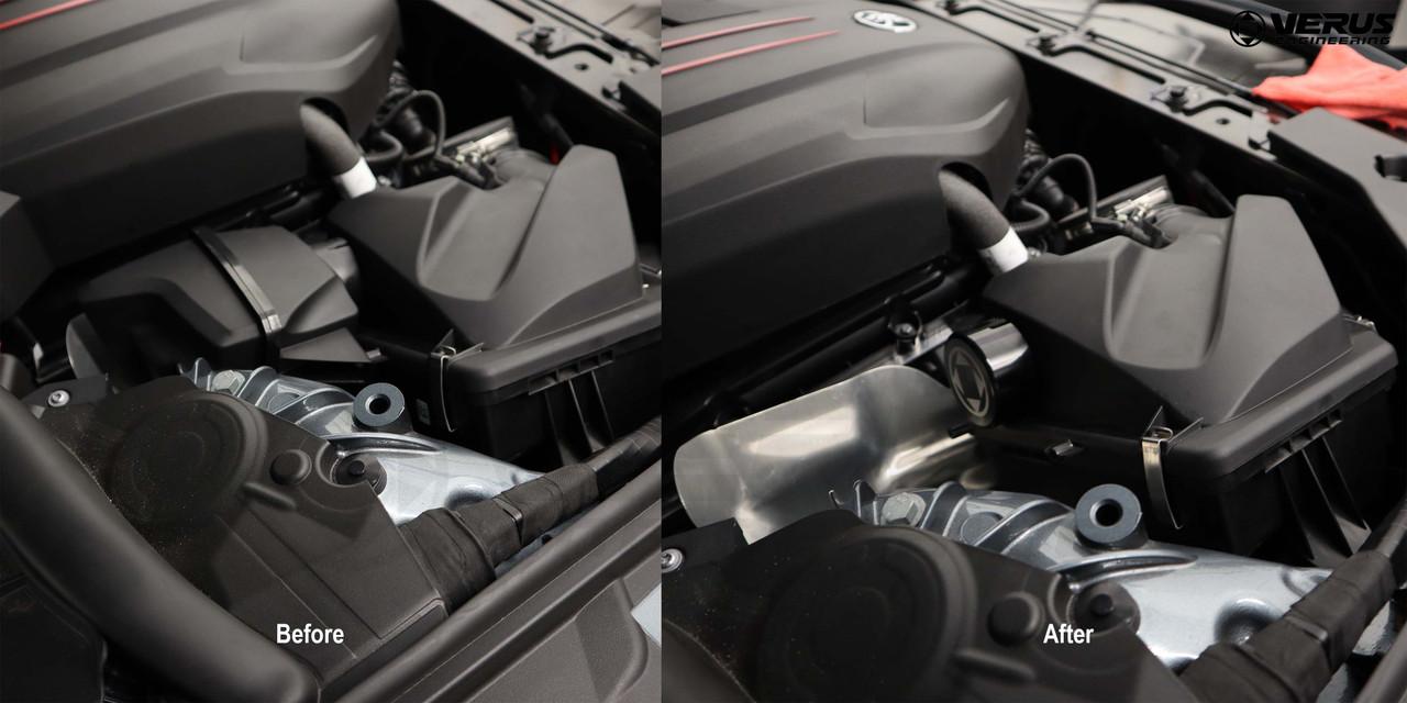 Verus Engineering Resonator Delete - Mk5 Toyota Supra