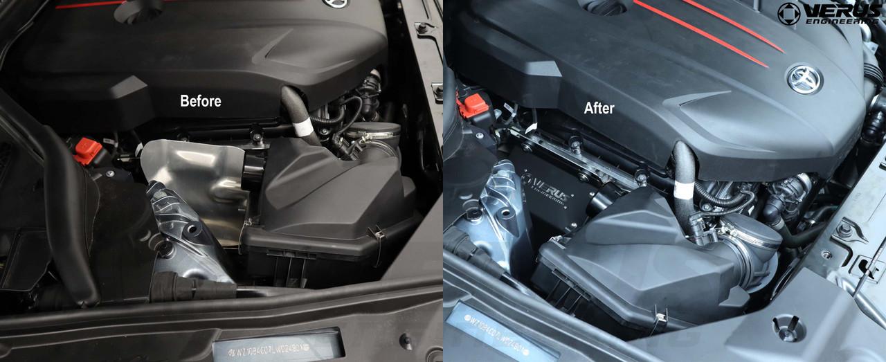 Verus Engineering Turbo Heat Shield Kit - (2020) Mk5 Toyota Supra