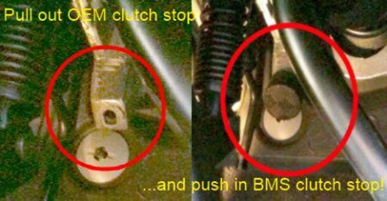 BMS Short Throw Clutch Stop for BMW, Mini Cooper, and Volkswagen