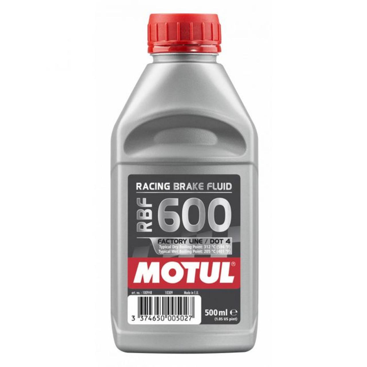 Motul RBF 600 Factory Line DOT 4 Brake Fluid