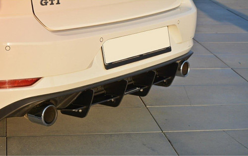 Maxton Design VW MK7.5 GTI (Facelift) Rear Diffuser