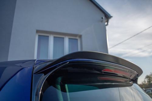 Maxton Design VW MK7.5 GTI/R (Facelift) Rear Spolier Extension V.3 (Gloss Black)