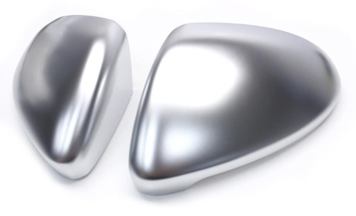 OE Replacement Brushed Aluminium Mirror Caps for MK7/7.5 MQB Platform