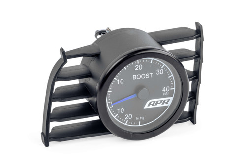 APR MK7 Mechanical Boost Gauge System (Blue)