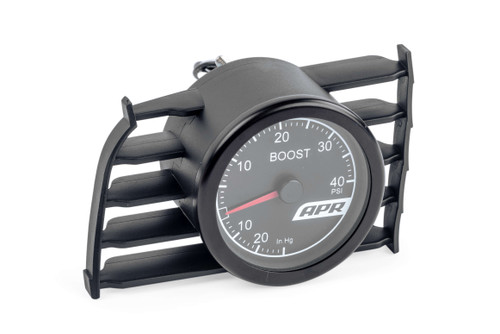 APR MK7 Mechanical Boost Gauge System (Red)