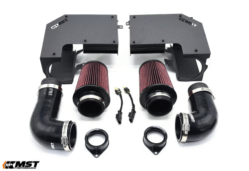MST Performance 2012+ Mercedes-Benz C400 C450 C43AMG GLC43 Cold Air Intake System V2 (MB-C4301L)