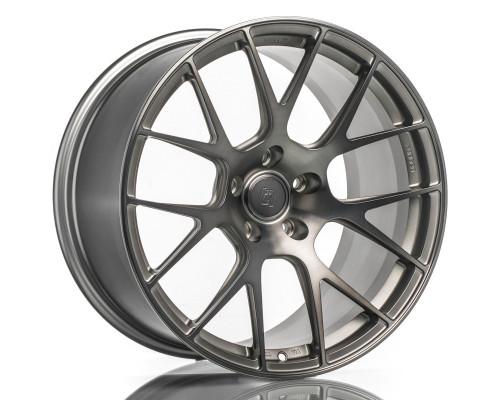 T-S7 Forged Split 7 Spoke Wheel (Audi B9 A4/S4 Fitment) (Set of 4) F&R 19x9.5 5x112 +40 Satin Titanium