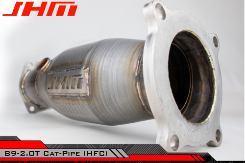 "JHM 3"" Cat-Pipe (HFC) for Audi B9 A4-A5-Allroad 2.0T"