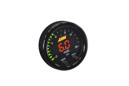 AEM  X-Series Digital Boost/Fuel Pressure Gauges 15psi (30-0309)