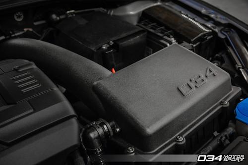 034 Motosport P34 Performance Cold Air Intake, 8V Audi A3/S3/TT/TTS & MkVII Volkswagen Golf/GTI/R, 1.8T/2.0T Gen 3 (MQB)