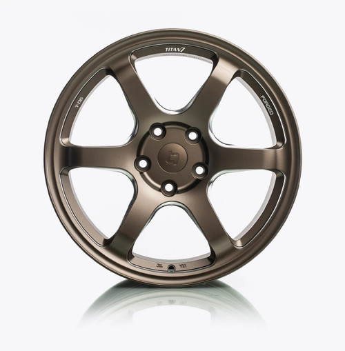 T-D6 Forged 6 Spoke Wheel (Set of 4) 18x9.5 5x120 +45 (2017+ Honda Civic Type-R fitment)