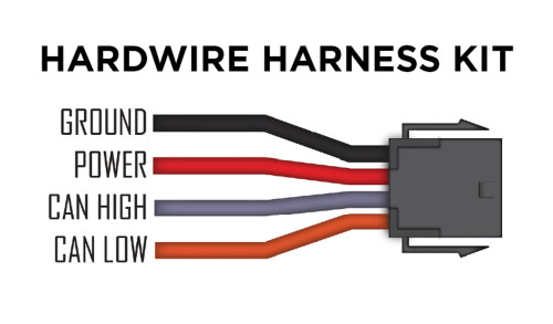 P3 Guages V3 Hardwire Harness