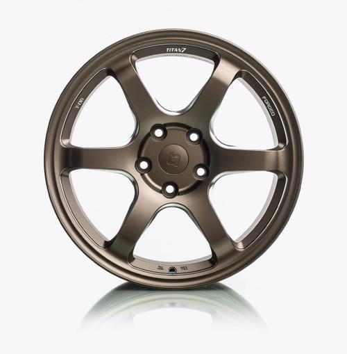 T-D6 Forged 6 Spoke Wheel (Set of 4) 20x10 5x114.3 +34/ R: 20x12 5x114.3 +25 (2009+ GT-R fitment)
