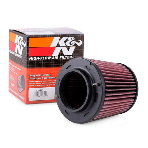 K & N Performance Air Filter (E-1987) for Audi B8/8.5 A4/A5/S4/S5/Q5/SQ5