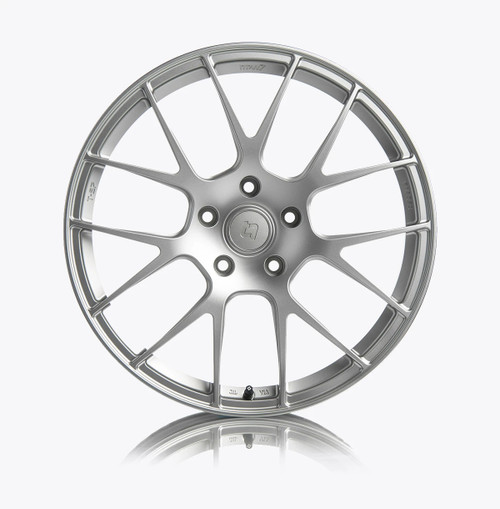 T-S7 Forged Split 7 Spoke Wheel (VW/Audi Fitment) (Set of 4) F&R 18x8.5 5x112 +44 Iridium Silver